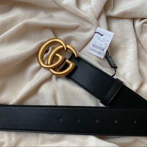 ÿNew Gucci Belt Àùthèntíć Double G Marmor